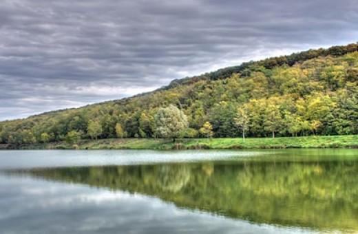 Jezero Bruje, Nacionalni park Fruška gora