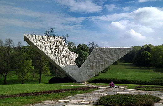 The monument of the NOB (II Worl War), Kragujevac