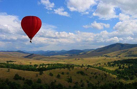 Let balonom Zlatibor