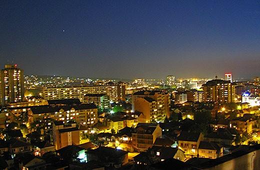 Grad Niš noću