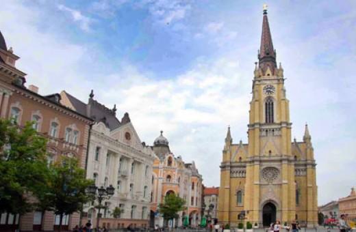 The Roman Catholic Church Ime Marijino, Novi Sad