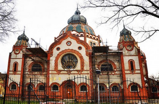 Synagogue in Subotica