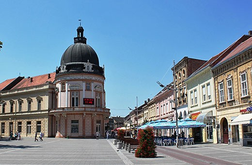Sremska Mitrovica, City Centre