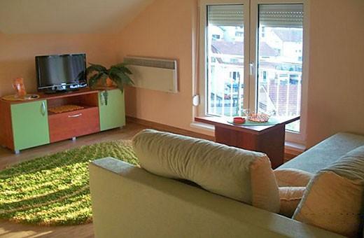 Dnevna soba, Sunčani apartman - Apartmani Makojević, Vrnjačka banja