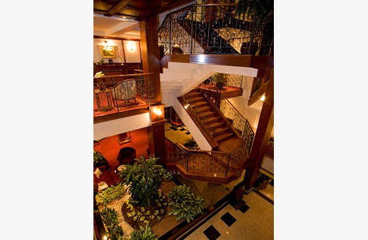 Unutrašnje stepenice, Boutique Hotel Zlatnik - Zemun