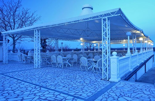 Terrace, Hotel Kondor - Stari Banovci