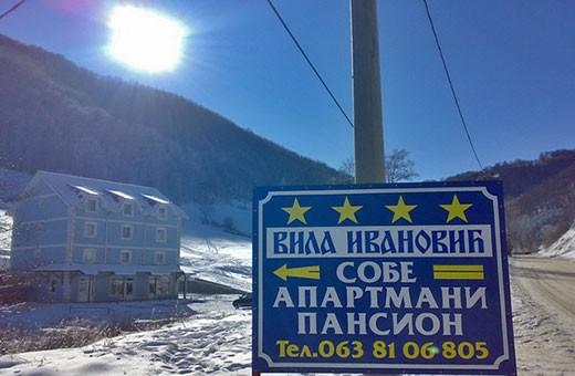 Winter season, Villa Ivanović - Brzeća, Kopaonik