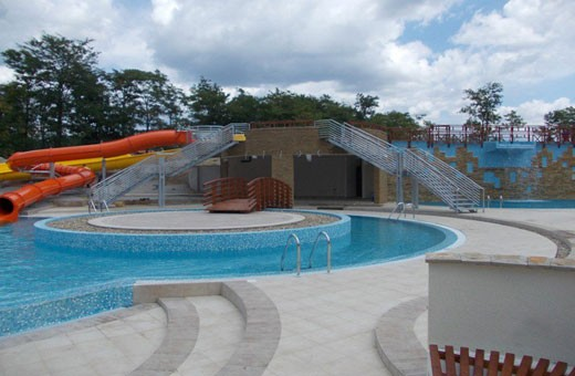 Aqua park, Sobe i Apartmani Srebrno jezero
