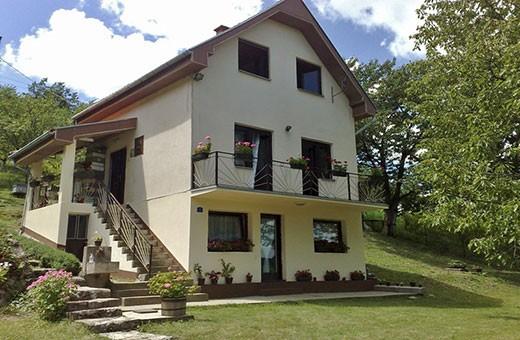Kuća spolja, Seosko domaćinstvo Krstivojević - Selo Krčmar