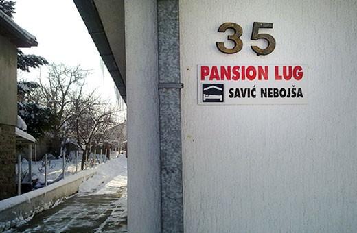 Pansion Lug - Beograd