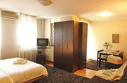 Dnevna soba, Apartman Skadarlija 3 - Beograd
