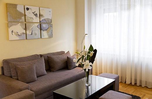 Dnevni boravak, Apartman Skadarlija - Beograd