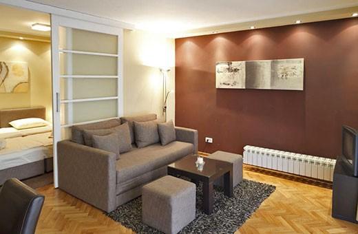 Dnevna soba, Apartman Little Bay - Beograd