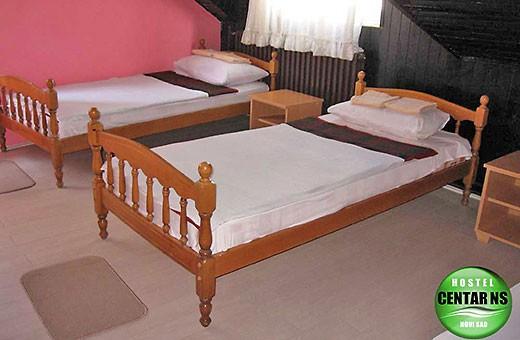 Triple room, Hostel CENTAR NS - Novi Sad