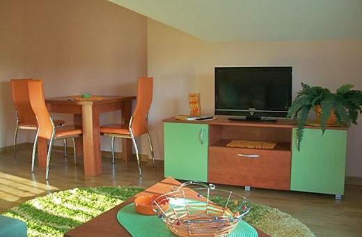 Trpezarija, Sunčani apartman - Apartmani Makojević, Vrnjačka banja
