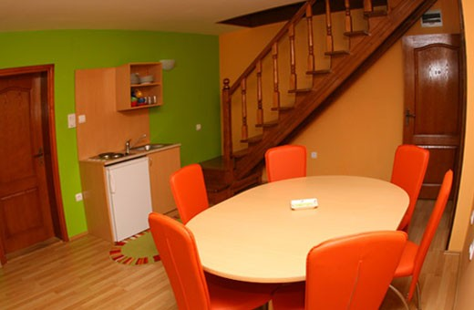 Apartment 10 Dining room and kitchen, Apartments Marić - Zlatibor