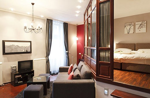 Dnevna soba, Apartman Terazije - Beograd