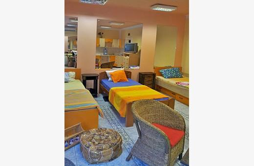Narandžasta soba, Hostel Avala - Kikinda