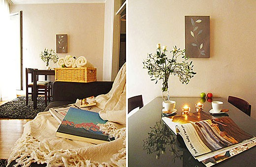 Dnevna soba i trpezarija, Apartman Skadarlija 3 - Beograd