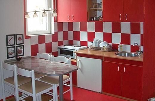 Kuhinja i trpezarija, Apartman Centar - Apartmani Makojević, Vrnjačka banja