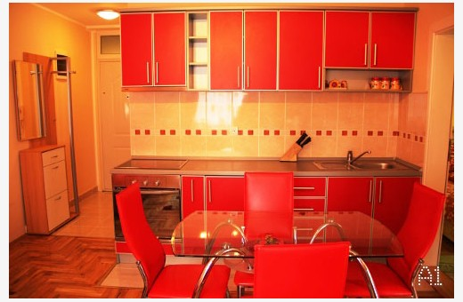 Apartman A1 kuhinja, Apartmani Srećica - Zlatibor