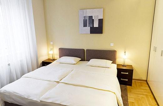 Spavaća soba 1, Apartman Skadarlija - Beograd
