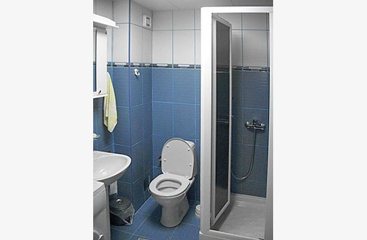 Bathroom, Apartment L'Paris - Apartments Makojevic, Vrnjačka banja