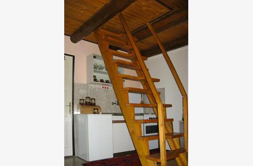 Unutrašnje stepenice, Ski kuća - Kopaonik