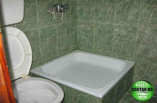 Bathroom, Hostel CENTAR NS - Novi Sad