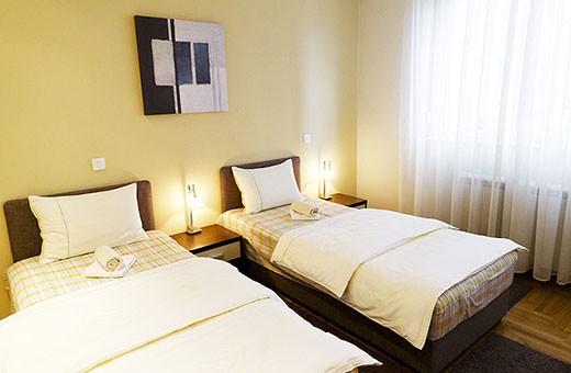 Spavaća soba 2, Apartman Skadarlija - Beograd