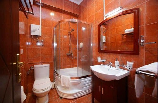 Bathroom, Planeta Inn - Novi Sad