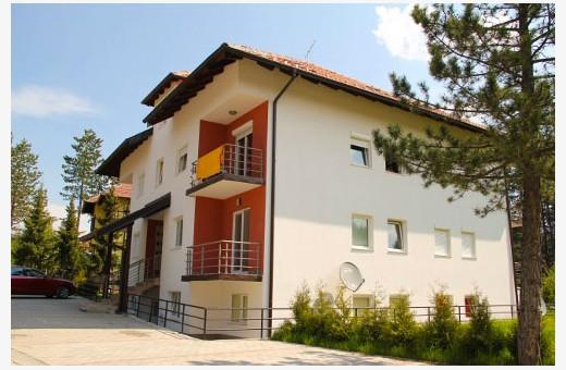 Kuća u kojoj se nalazi apartman A2, Apartmani Srećica - Zlatibor