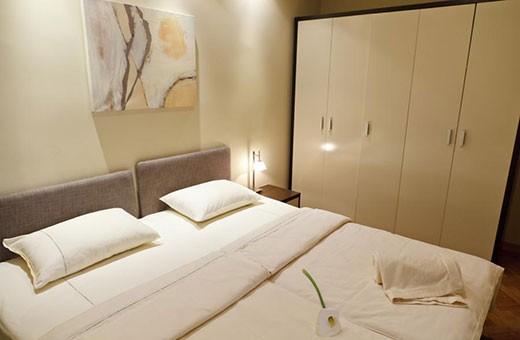 Spavaća soba, Apartman Little Bay - Beograd