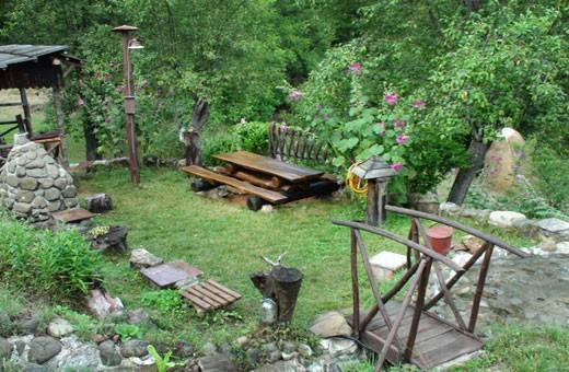 Dvorište, Etno kuća Cerova kosa - Mokra Gora