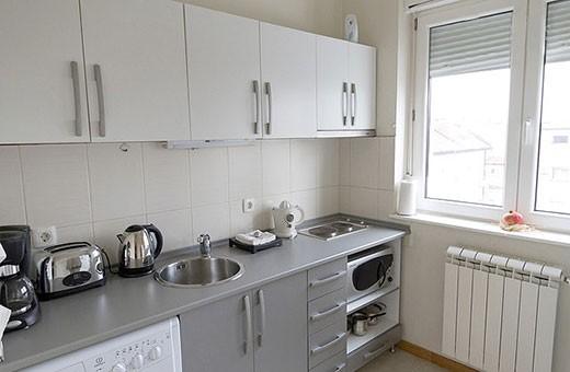 Kuhinja, Apartman Skadarlija - Beograd