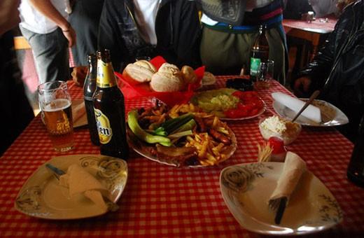 Hrana, Pansion Nebo - selo Rudno