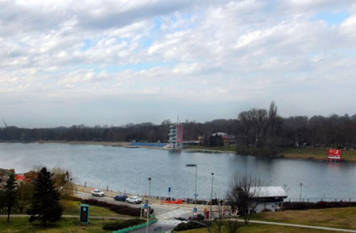 Ideal place for water sports, Ada Ciganlija