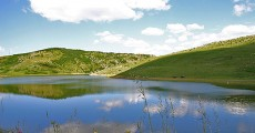 Sjeničko jezero koje prave dve reke Vapa i Uvac