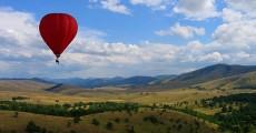 Balloon flight Zlatibor
