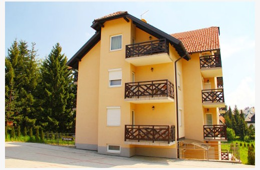 Building where is Apartment A1, Apartments Srećica - Zlatibor