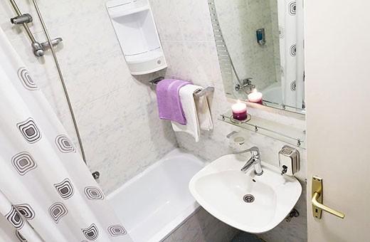 Bathroom, Apartment Skadarlija 2 - Belgrade