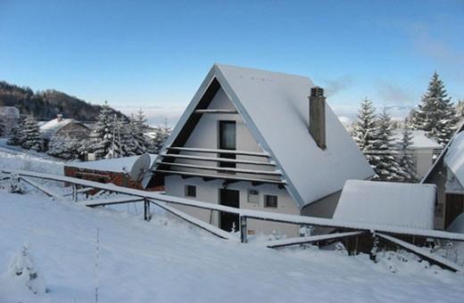 Winter time, Ski house - Kopaonik