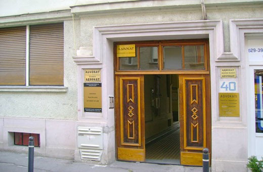 The entrance, Hostel Mali - Novi Sad