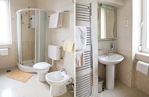 Bathroom, Apartment Skadarlija - Belgrade