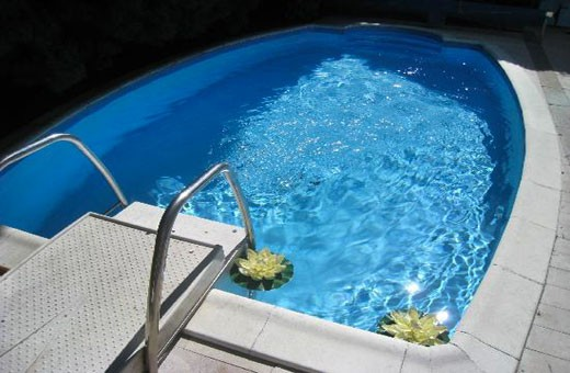 Swimming pool, Villa Jelena - Belgrade