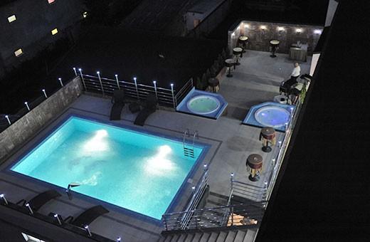 Spoljašnji bazen, Best Western Prezident Hotel - Novi Sad