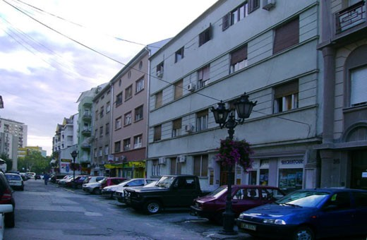 The hostel is in this building, Hostel Mali - Novi Sad