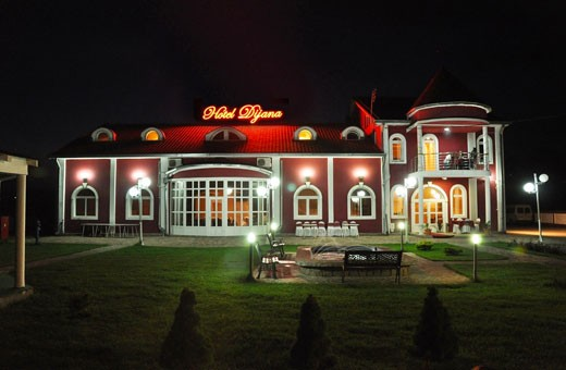 Noću, Hotel Dijana - Pirot