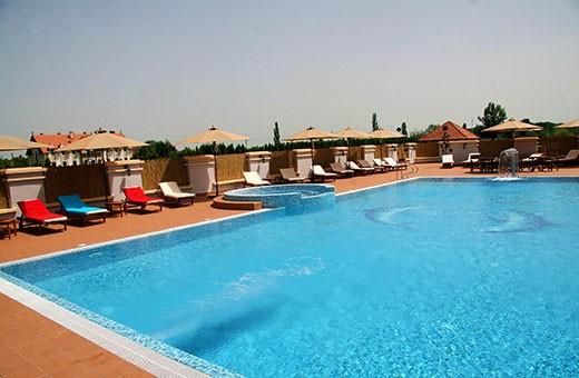 Spoljašnji bazen, Hotel Prezident - Palić