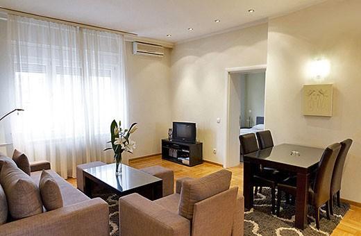 Living room, Apartment Skadarlija - Belgrade